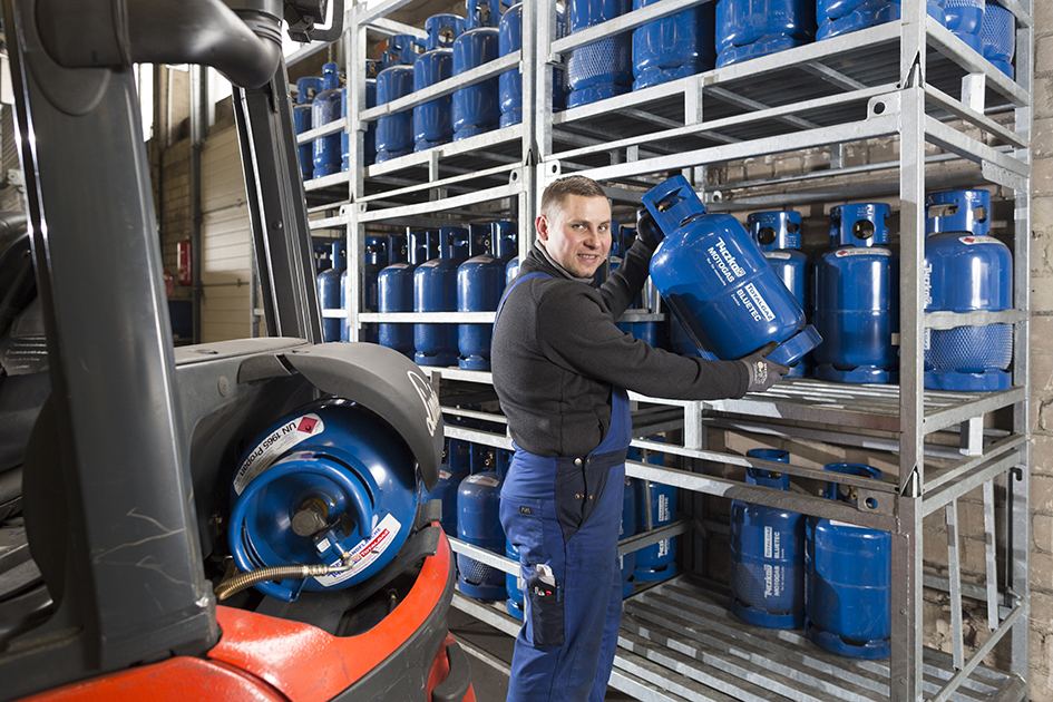 MOTOGAS BLUETEC: Fixe Energie für Spedition Kunzendorfer