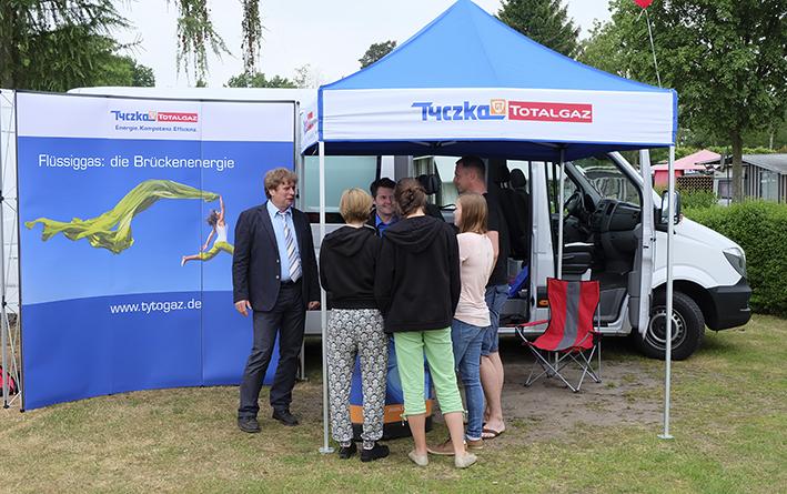 Neuer Flüssiggas-Versorger für Naherholungsgebiet Haddorfer Seen