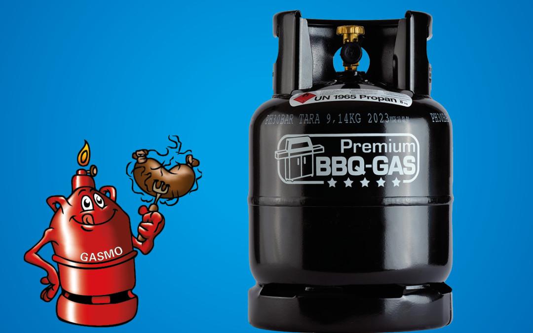 BBQ Gas – bewährte Energie in moderner Verpackung