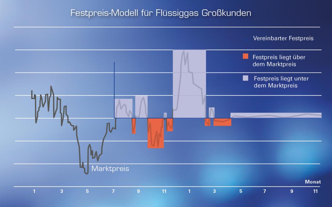 Flüssiggas Festpreis für Unternehmen: Kosten sicher kalkulieren