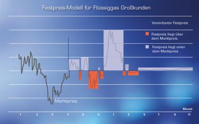Festpreis für Unternehmen: Flüssiggaskosten sicher kalkulieren