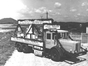 Der erste Propan-LKW in Deutschland