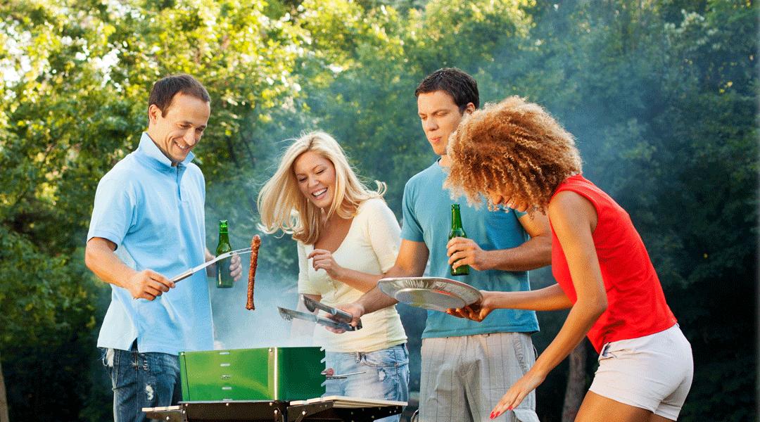 Mit Gas grillen: macht mit Sicherheit Spaß