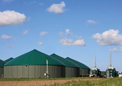 Melkstand, Kuhkarussell, Landwirtschaft, Flüssiggas, Energieversorgung