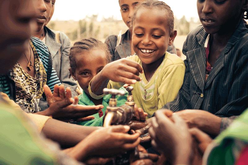 Wasserprojekt in Äthiopien, Viva con Agua, Wasser für alle