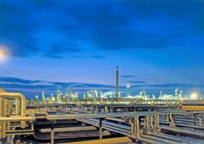 Flüssiggas, Raffinerie, Destillation