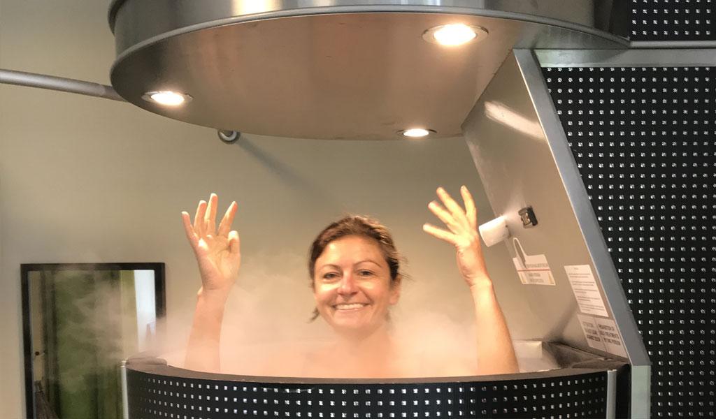 Kryosauna = Ganzkörper-Kältetherapie bei -150° C