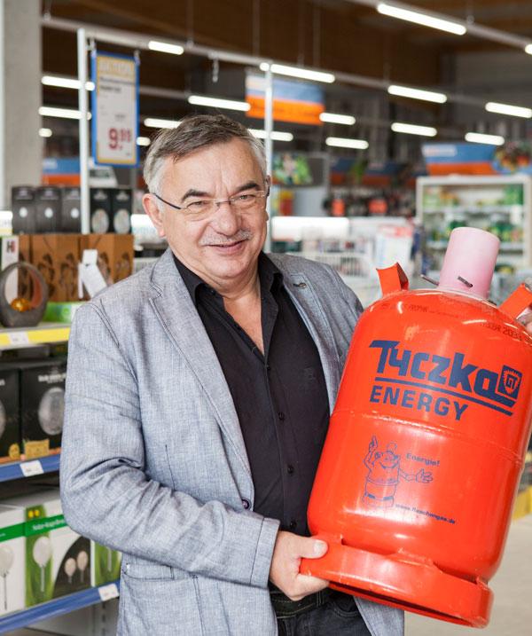 Holger Haul, Baumarkt, Gasflaschen, Flaschengas Händler,