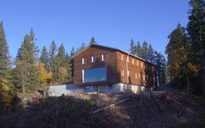 Hoch hinaus: Energiekonzepte für Hütten wie das Schutzhaus Falkenstein
